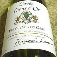 Cuvee Lions d'Or VIN DE PAYS DU GARD blanc 2005