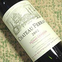 CHATEAU FERRAN 2002