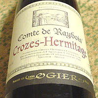 OGIER Crozes-Hermitage Comte de Raybois 2000