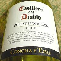 CONCHA Y TORO Casillero del Diablo PINOT NOIR 2004
