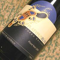 YERING STATION PLATYPUS RUN Pinot Noir 2001