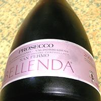 BELLENDA PROSECCO DI CONEGLIANO-VALDOBBIADENE SAN FERMO BRUT 2007