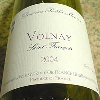 Domaine Roblet Monnot VOLNAY Saint Francois 2004