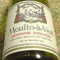 DOMAINE DIOCHON Moulin-a-Vent 2001