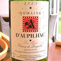 DOMAINE D'AUPILHAC Lou Maset 2007