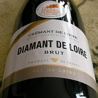 LES CAVES DE LA LOIRE DIAMANT DE LOIRE CREMANT DE LOIRE BRUT RESERVE