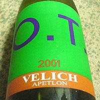 VELICH O.T. 2001