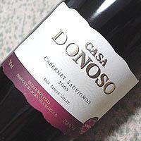 CASA DONOSO CABERNET SAUVIGNON 2003