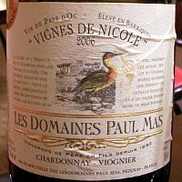 LES DOMAINES PAUL MAS VIGNES DE NICOLE 2006