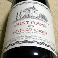 SAINT COSME COTES-DU-RHONE 2008