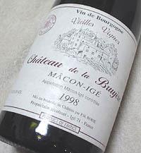 Chateau de la Bruyere MACON-IGE Vieilles Vignes 1998