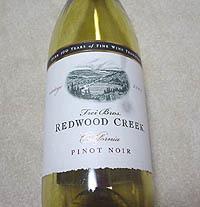 REDWOOD CREEK PINOT NOIR 2003