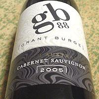 GRANT BURGE gb88 CABERNET SAUVIGNON 2005