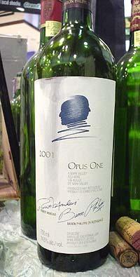 OPUS ONE 2001
