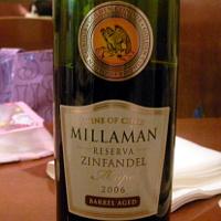 MILLAMAN ZINFANDEL RESERVA 2006