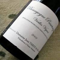 Domaine Jean TARDY et Fils Bourgogne Passetoutgrain Vieilles Vignes 2008