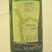 ドメーヌ・ストフラー / アルザス・リースリング '2004'