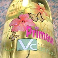 SCAレ・ヴィニュロン・デ・カルナス / レ・ヴァン・ド・ペイ・デュ・ガール・ヴァン・プリムール '2007'