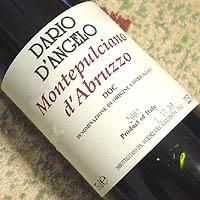 ダリオ・ダンジェロ / モンテプルチアーノ・ダブルッツォ '2003'