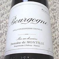 ドメーヌ・ド・モンティーユ / ブルゴーニュ '1999'